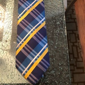 Burberry Authentic Plaid Dashing Blue&Yellow check